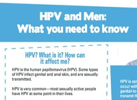 HPV and Men: What you need to know